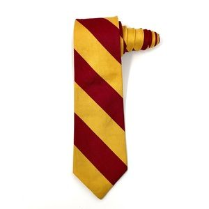 GAP Diagonal Striped Tie 100% Pure Silk